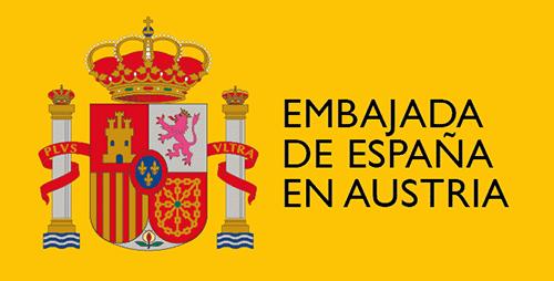 Logo Spanische Botschafti n Wien