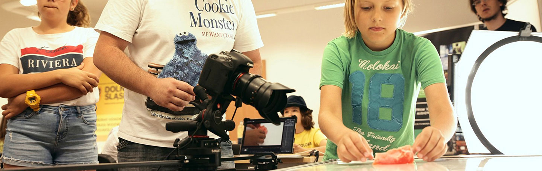 Animationsworkshop für Kinder - Künstelerhaus Under the Radar